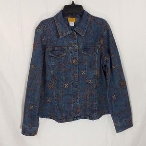 Ruby Rd. Denim Jacket
